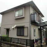 「富士見市U様邸 外壁をベージュから淡いピンクへイメージチェンジ!アクアシリカ・ユメロックを使用」サムネイル