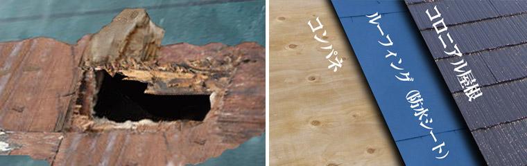 屋根ルフーィング劣化と屋根構造.jpg