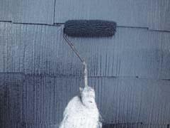 【屋根塗装】上塗り2回
