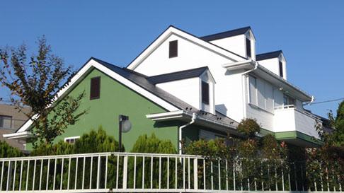 飯能市S様邸外壁屋根塗装施工後