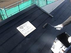 H28.7月坂戸市外壁塗装工事N様邸屋根塗装上塗り.jpg