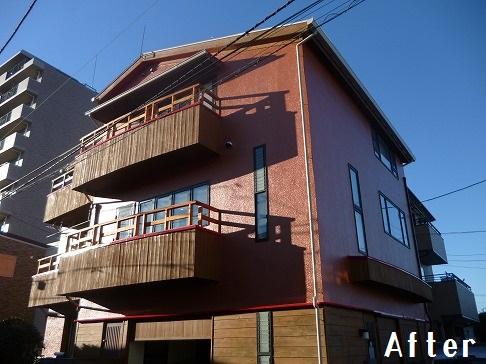 H29.3月さいたま市渡辺様邸外壁・屋根塗装施工後