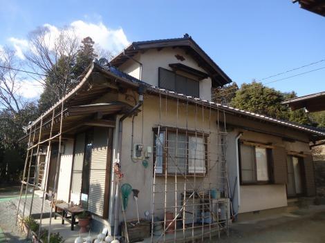埼玉県入間郡越生I様邸の施工前写真