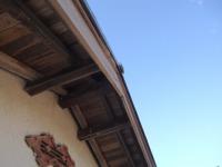 埼玉県入間郡越生町I様邸の軒裏洗浄前写真