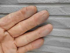 H28.11月所沢市K様邸外壁塗装屋根塗装施工前チョーキング.jpg