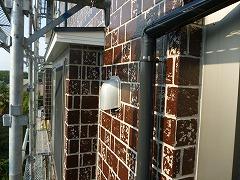 H28.12月入間市O様邸付帯塗装雨樋
