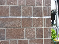 H28.12月入間市O様邸外壁横目地補修後