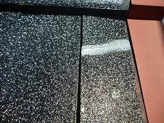 H28.12月入間市O様邸屋根塗装割れ補修後