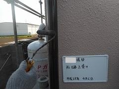 H28.9月川越市A様邸外壁塗装付帯雨樋上塗り