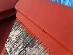H28.9月川越市S様邸屋根塗装釘補修①