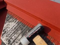 H28.9月川越市S様邸屋根塗装釘補修②