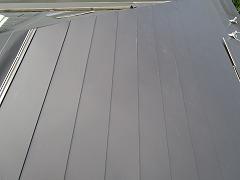H29.1月川越市Y様邸屋根ガルバリウム鋼板カバー工法