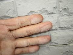 H29.1月Y様邸外壁塗装施工前外壁チョーキング