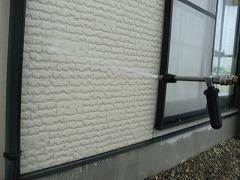 H29.1月Y様邸外壁塗装高圧洗浄