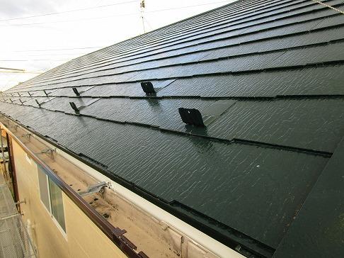 H29.2月幸手市N様邸外壁塗装・屋根塗装施工後屋根