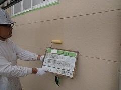 H29.2月幸手市N様邸外壁塗装下塗り①