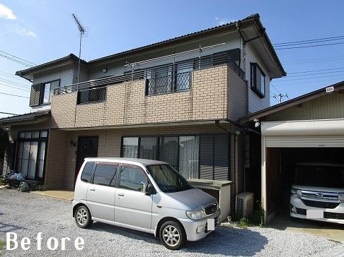 H29.2月東松山市吉岡様邸外壁塗装 施工前