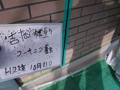 H29.2月東松山市吉岡様邸外壁塗装シーリング打ち替え・養生