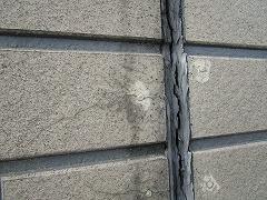 H29.2月東松山市吉岡様邸外壁塗装施工前外壁目地