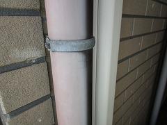 H29.2月東松山市吉岡様邸外壁塗装施工前雨樋.jpg