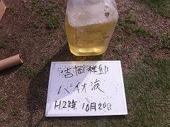 H29.2月東松山市吉岡様邸外壁塗装高圧洗浄バイオ液