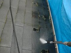 H29.2月幸手市N様邸外壁塗装・屋根塗装高圧洗浄②.jpg