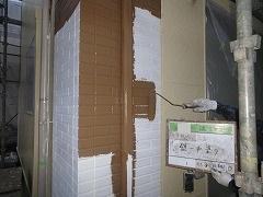 H29.2月幸手市N様邸外壁塗装中塗り②.jpg