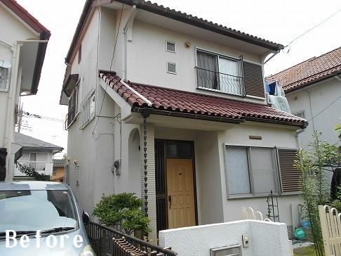 H29.3月さいたま市大和田様邸外壁塗装屋根塗装施工前.jpg