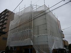 H29.3月さいたま市渡辺様外壁・屋根塗装足場架設
