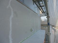 H29.3月さいたま市渡辺様外壁塗装クラック処理
