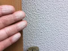 H29.3月さいたま市渡辺様邸外壁・屋根塗装施工前チョーキング