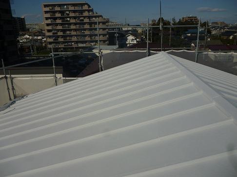 H29.3月さいたま市渡辺様邸外壁・屋根塗装施工後屋根