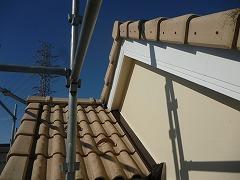 H29.3月戸田市A様邸外壁塗装破風塗装後