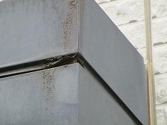 H29.4月坂戸市O様邸外壁・屋根塗装施工前シャッターボックス