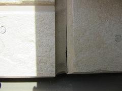 H29.4月草加市守岡様邸外壁・屋根塗装施工前外壁目地.jpg