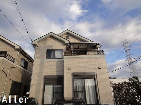 H29.4月草加市守岡様邸外壁・屋根塗装施工後.jpg