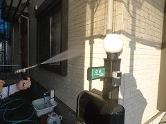 H29.4月草加市守岡様邸外壁・屋根塗装高圧洗浄外壁.jpg