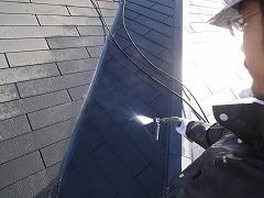H29.4月草加市守岡様邸外壁・屋根塗装高圧洗浄屋根.jpg