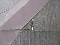H28.11月さいたま市N様邸屋根塗装割れ補修前.jpg