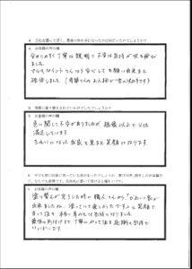 埼玉県鶴ヶ島市 アンケート2