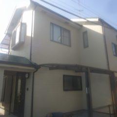 「川越市H様邸 外壁:パーフェクトトップ、屋根:ハイパーユメロック」サムネイル