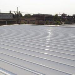 「新座市F㈱様、工場外壁塗装・折半屋根塗装・屋上防水加工。」サムネイル