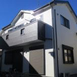 「川越市M様邸 外壁塗装:パーフェクトトップ・屋根塗装:ハイパーユメロック。」サムネイル