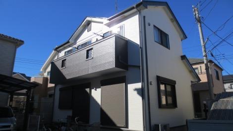 「埼玉県川越市 外壁塗装:パーフェクトトップ、屋根塗装:ハイパーユメロック M様邸」サムネイル