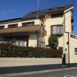 「東松山市Y様邸 外壁塗装:ハイパーユメロック、屋根:ガルバリウム鋼板カバー工法。」サムネイル