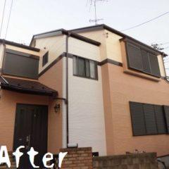 「埼玉県さいたま市S様邸は外壁にパーフェクトトップを3色塗分け、屋根をハイパーユメロックで塗装」サムネイル
