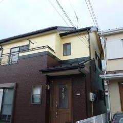 「川越市松浦様邸 外壁塗装:パーフェクトトップ、屋根塗装:ハイパーユメロック。」サムネイル