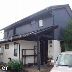 「埼玉県比企郡ときがわ町Y様邸 異素材が織りなす上品な配色 外壁・屋根:ハイパーユメロック」サムネイル