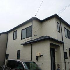 「坂戸市O様邸 外壁塗装:ハイパーユメロック、屋根塗装:ルミステージ。」サムネイル