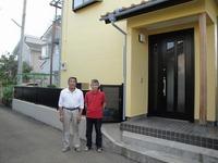 「比企郡鳩山町N様邸 外壁塗装:ピュアコート。」サムネイル